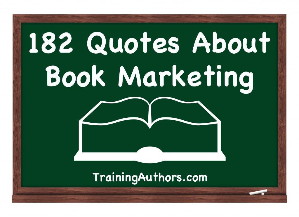 Book Marketing Quote